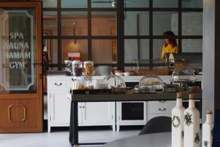 our breakfast enetiko resort area